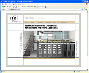 N2kcad Flash Website Image